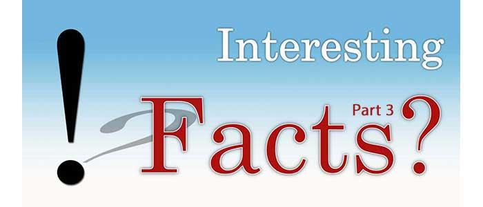 Интересни Факти част 3 - Статии.com